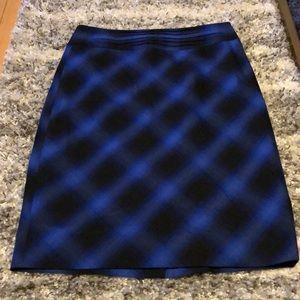 Limited plaid pencil skirt